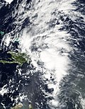 Tropical Storm Mindy (2003) MODIS Peak.JPG