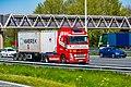 Truck Spotting on the A16 Direction Zwijndrecht 19 04 2019.... Not the Best spot with the Barrier , But better than Nowt . (47591281302).jpg