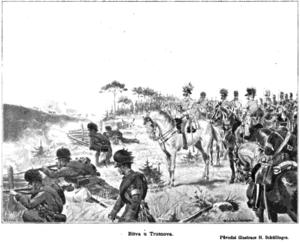 Battle of Trautenau - Image: Trutnov Battle Schuellinger