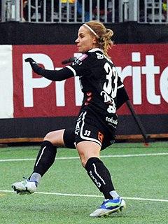Tuija Hyyrynen Finnish Footballer