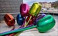 Tulipes de Jeff Koons (musée Guggenheim, Bilbao) (3433265727).jpg