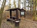Turistic site near Pond Steklý near Hvězdoňovice, Třebíč District.jpg