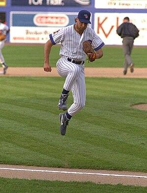 Baseball player Turk Wendell.