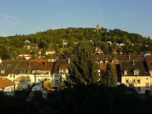 Turmberg - Durlach with Turmberg