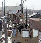Turret gunners of Combat Logistics Battalion 7 keep convoy safe 140714-M-JD595-0066.jpg