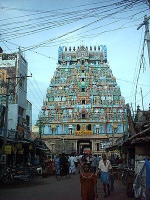 Tiruchirappalli district - Thiruvanaikaval Temple at Tiruchirapalli
