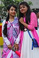 Two Bangladeshi girls at Pohela Boishakh celebration 2016 (01).jpg