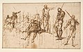 Two Standing Soldiers and Six other Figures MET DP811518.jpg