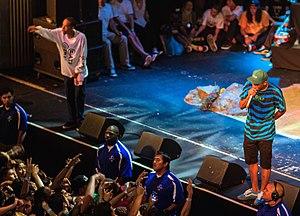 Tyler, the Creator - Okonma and Earl Sweatshirt performing at the Pomona Fox Theater in 2013