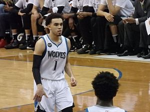 Tyus Jones - Jones with the Timberwolves in 2016