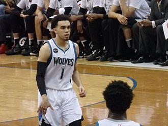 Tyus Jones - Jones with the Timberwolves in 2016