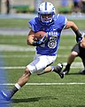 U.S. Air Force Academy Falcons running back Cody Getz heads for the sidelines during a game against the Bengals of Idaho State at Falcon Stadium in Colorado Springs, Colo., Sept 120901-F-JM997-782.jpg