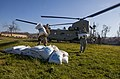 U.S. service members from Joint Task Force Matthew stack bags of rice in Dame Marie, Haiti (161012-M-JL916-106 (29774626983)).jpg