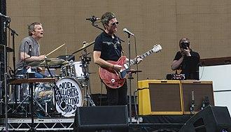 Noel Gallagher's High Flying Birds - Noel Gallagher's High Flying Birds performing at Twickenham Stadium, 2017.