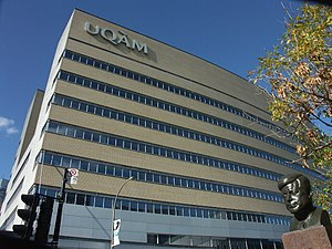 UQAM Président-Kennedy building, Montreal.