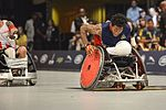 US, Denmark face off in wheelchair rugby final 160511-F-WU507-104.jpg