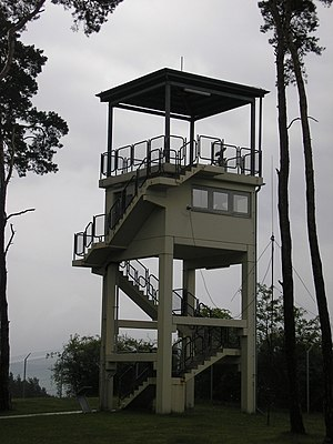 Observation Post Alpha - Image: US Wachturm PA