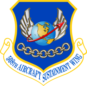508th Aerospace Sustainment Wing - Image: USAF 508th Aircraft Sustainment Wing