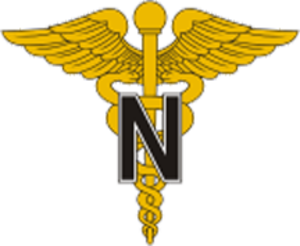 Army Medical Department (United States) - Image: USA Army Medical Nurse