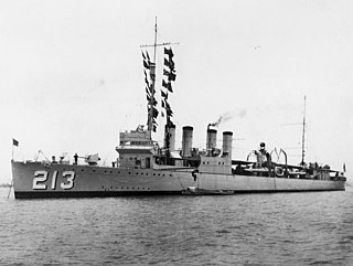 <i>Clemson</i>-class destroyer Destroyer class of the US Navy