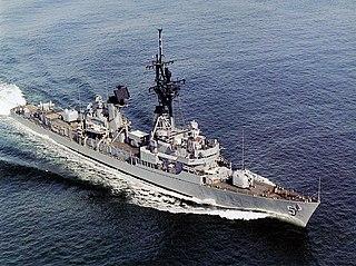 USS <i>Claude V. Ricketts</i> Charles F. Adams-class destroyer