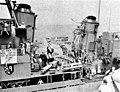 USS Lyman K. Swenson (DD-729) greets HMAS Melbourne (R21) in 1962.jpg