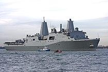 USS New York in the Hudson River 200911.jpg