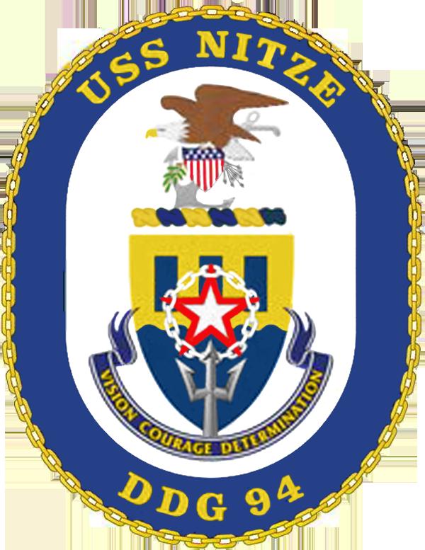 USS Nitze DDG-94 Crest