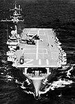 USS Siboney (CVE-112) underway at sea on 3 February 1956.jpg