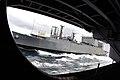 US Navy 070113-N-6326B-039 The Military Sealift Command (MSC) ammunition ships USNS Shasta (T-AE 33), pulls alongside the nuclear-powered aircraft carrier USS Nimitz (CVN 68) during a routine ammunition offload.jpg