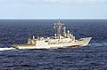 US Navy 070409-N-5459S-109 Oliver Hazard Perry-class frigate USS Samuel B. Roberts (FFG 58) navigates in the Caribbean Sea during an exercise.jpg