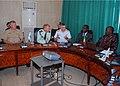 US Navy 070518-N-6544L-004 Commander, U.S. Sixth Fleet Vice Adm. John Stufflebeem and Commander, U.S. Coast Guard Atlantic Area Vice Adm. D. Brian Peterman meet with representatives of the Dakar Port Authority at the Port of Da.jpg