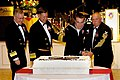 US Navy 101009-N-3822F-001 Official cake cutting ceremony during the Naval Personnel Command (NPC) Navy Ball.jpg
