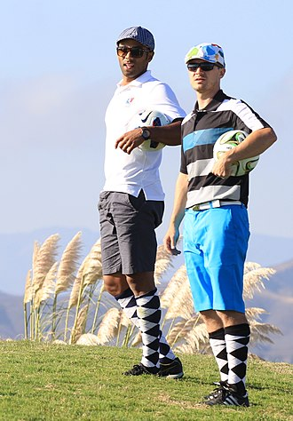 Footgolf - American FootGolf League Players at the U.S. Pro-Am Tour in 2014