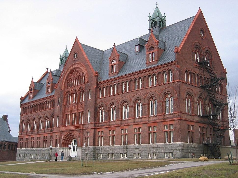 UVM Williams Hall building 20040101