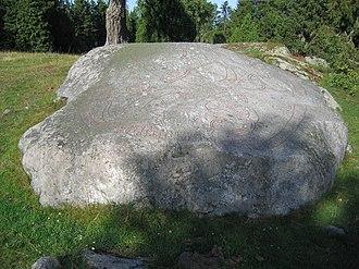 Granby Runestone - Image: U 337, Granby
