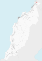Ubicación de O Fieiro (en rojo) en el municipio de Porto do Son.png