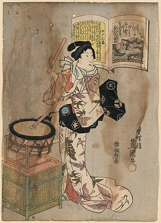 Kagerō Nikki - Mother of Michitsuna, author of Kagerō Nikki