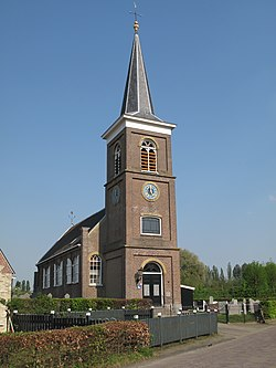 Uitwellingerga, church