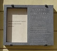 Zuzanna Ginczanka Wikipedia Wolna Encyklopedia