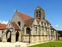 Ully-Saint-Georges (60), église Saint-Georges, vue depuis le sud 3.jpg