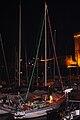 Un voilier illuminé.JPG