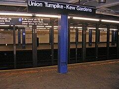 Kew Gardens Union Turnpike Wikipedia Wolna Encyklopedia
