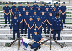 Operational Dress Uniform - USCG graduates wearing ODUs, circa 2010
