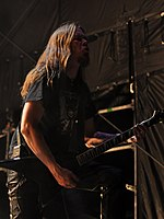 Unleashed, Tomas Måsgard at Party.San Metal Open Air 2013 03.jpg