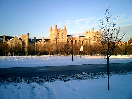 Harper Library at the University of Chicago