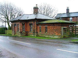 Upper Broughton railway station Former railway station in Nottinghamshire, England