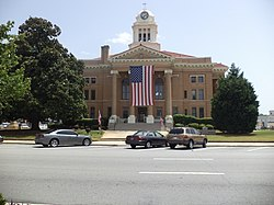 Upson County Courthouse (West face).JPG