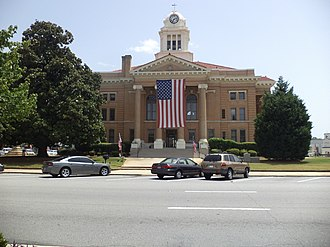 Upson County, Georgia - Image: Upson County Courthouse (West face)