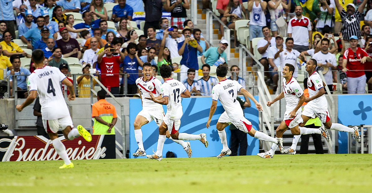 costa rica national football team results 2014